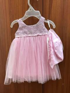Christening Gown for Baby Girl 0-3months