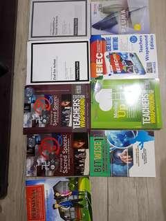 Senior High textbooks