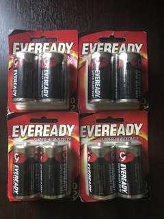 Batteries - Size D