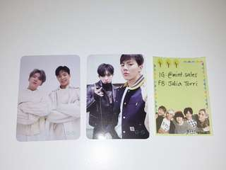 Monsta X Connect photocards kpop official