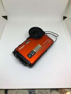 Nikon 3 防相機,有GPS