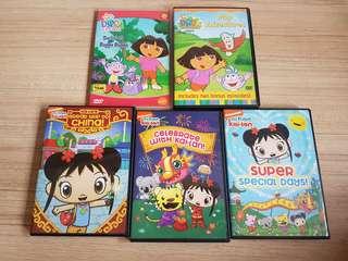 Dora and Kai lan dvd