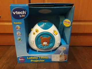 Lullaby baby projector