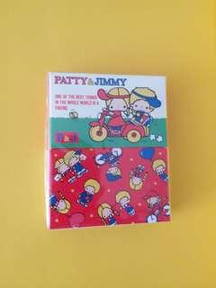 Sanrio Patty & Jimmy Memo Pad and Sticker