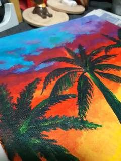 Handmade Painting for anniversary, birthday gift