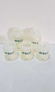 Set of Classic Avent Bottles