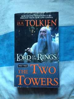 The Lord of the Rings: The Two Towers by JRR Tolkien