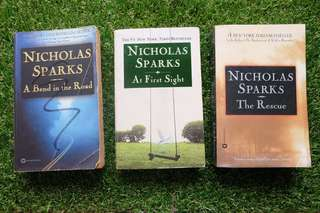 Nicholas Sparks Book: A Bend in the Road
