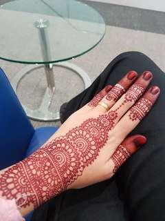 Henna for Hari Raya 2018