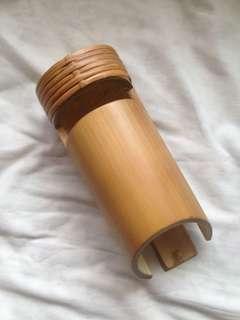 Loudbasstard wood amplifier
