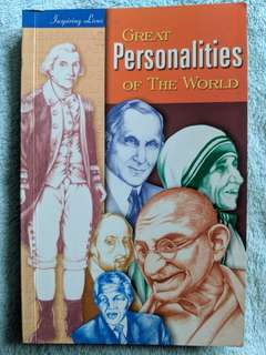 Great personalities of the world