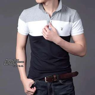 PLAYBOY SHIRT Fits S To L  Price : 350