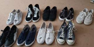 Adidas, lacoste, Reebok, converse, and more womens shoes
