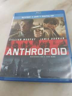 ANTHROPOID BLU RAY . DVD . HD .