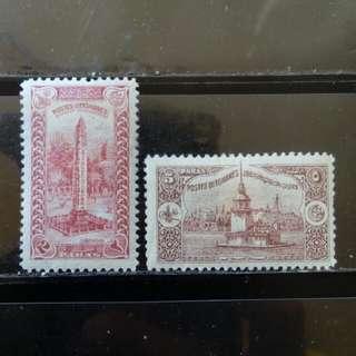[lapyip1230] 噩圖曼土耳其帝國 1914年 國土風光 新票 Mint