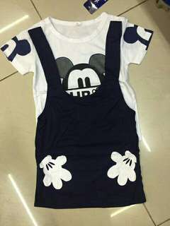 Mickey jumper dress