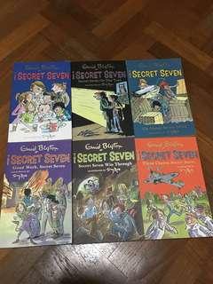 Secret seven books