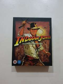 Indiana Jones Blu Ray Box Set
