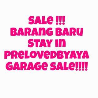 Garage sale make up owner