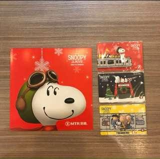 Snoopy 香港地铁纪念卡🇭🇰