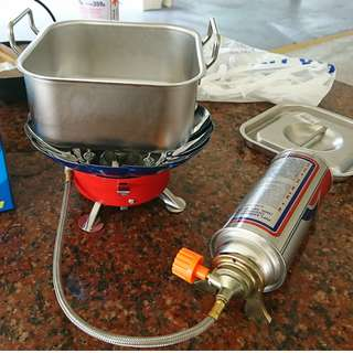 Outdoor Camping Stove - good for ICT, camps and fishing trips