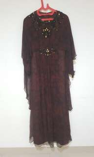 Dress pesta batik