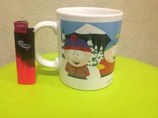 South park porcelin mug