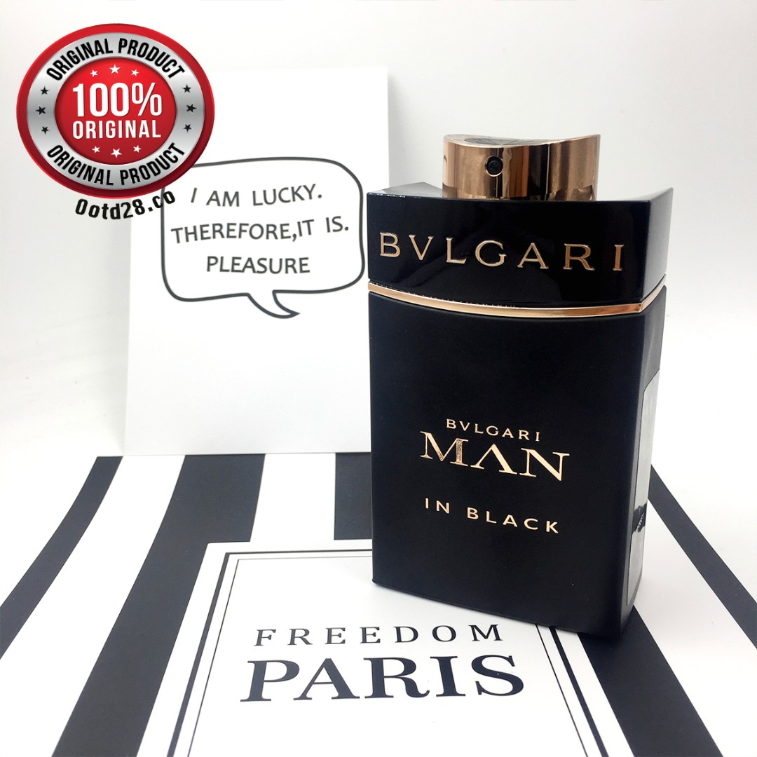 100 Bvlgari Man In Black Edp 100ml For Him Men Perfume Tester Health Beauty Perfumes Nail Care Others On Carousell
