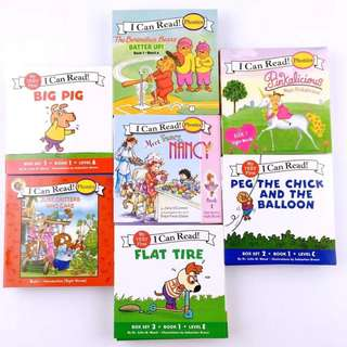 """ENGLISH """"I CAN READ SERIES"""" - 7 sets total of 84 books"""