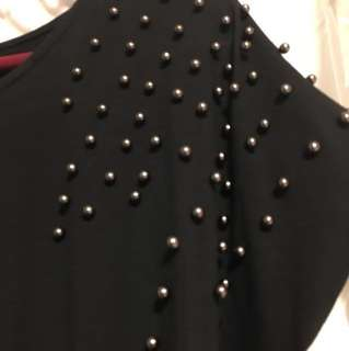 Studded tshirt dress