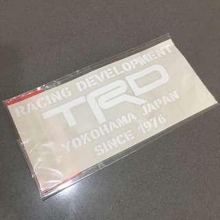 TRD Official Goods • Car Sticker • Genuine • Japan