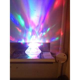 Disco crystal light