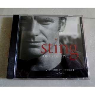 Sting Songs Of Love CD Victoria's Secret Exclusive
