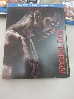 SOUTHPAW  BLU RAY . DVD