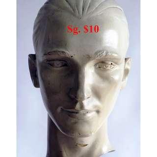 Man Face, Flat Backed