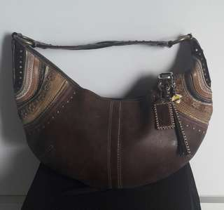 Vintage Coach Hobo Chic Bag