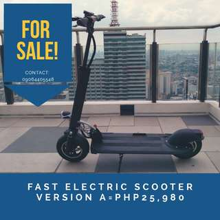 Electric Scooter Version A