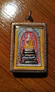 Thai Buddha Amulet Wat Ban Rai LP Boon Somdej 2537 Ratchasima Province