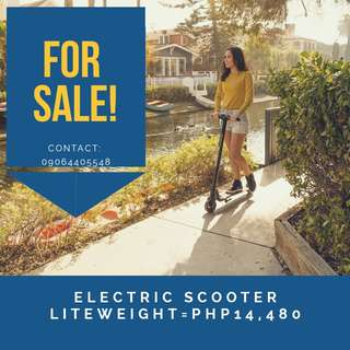 Electric Scooter Liteweight