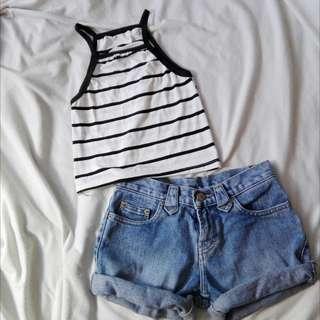 Halter Stripes