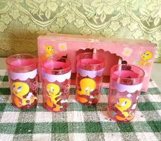 Tweety Tumbler Set