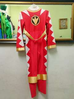 Powerangers costume 9-11 yr