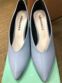 Light blue high heel(brand new)