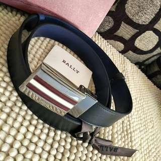 Bally Reversible Belt Black-Navy 110/44