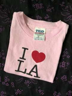 Baby Pink LA Shirt (Tornado)