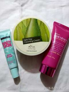 Skin Care Bundle: Herb Day and Maybelline Primer