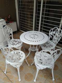 "RAYA PROMOTION ""Outdoor table & chairs"""
