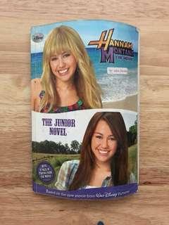 Hannah montana the junior novel
