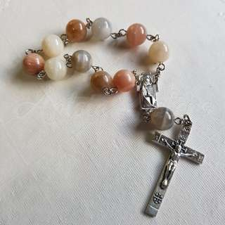 Moonstone Assorted Pocket Rosary
