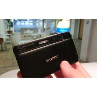 Sony Cyber-shot DSC-TX55 16.2 MP Slim Digital Camera with 5x Optical Zoom and 3.3-Inch OLED touch screen (black)